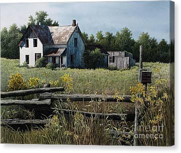 Newboro Farmhouse Canvas Print