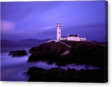Newcastle, Co Down, Ireland Lighthouse Canvas Print by The Irish Image Collection