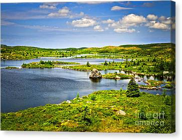 Newfoundland Landscape Canvas Print by Elena Elisseeva