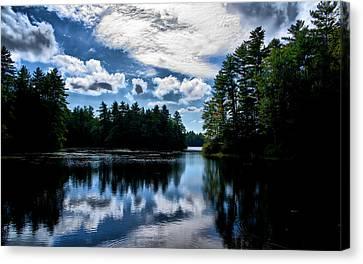 Nh Lake  Canvas Print by Edward Myers