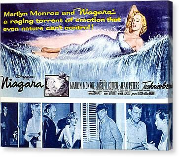 Niagara, Marilyn Monroe, 1953 Canvas Print by Everett
