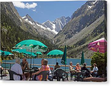Restaurant Es Canvas Print - Nice Place For A Drink by Rod Jones