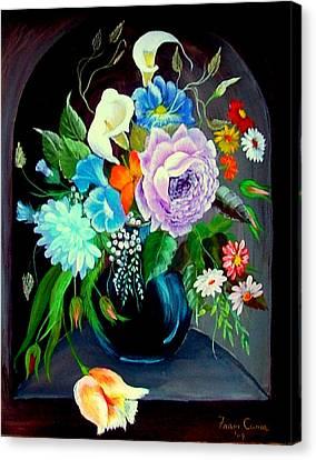 Niche Canvas Print by Fram Cama