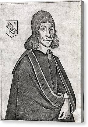 Nicholas Culpeper, English Physician Canvas Print by Middle Temple Library