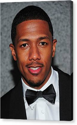 Cipriani Restaurant Wall Street Canvas Print - Nick Cannon At Arrivals For Operation by Everett