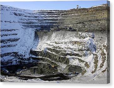 Nickel Quarry Canvas Print