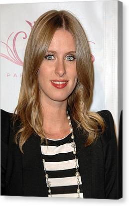 Nicky Hilton Canvas Print - Nicky Hilton At A Public Appearance by Everett