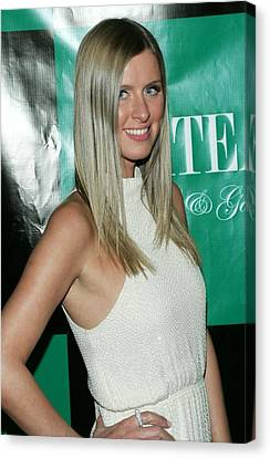 Nicky Hilton Canvas Print - Nicky Hilton At Arrivals by Everett