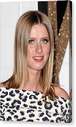 Nicky Hilton Canvas Print - Nicky Hilton At Arrivals For Chloe Los by Everett