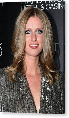 Nicky Hilton Canvas Print - Nicky Hilton At Arrivals For Nicky by Everett