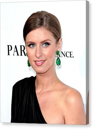 Nicky Hilton Canvas Print - Nicky Hilton At Arrivals For Paris, Not by Everett