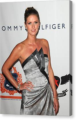 Nicky Hilton Canvas Print - Nicky Hilton At Arrivals For The 18th by Everett
