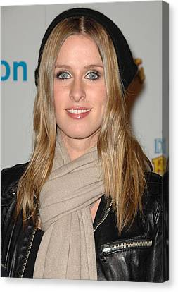 Nicky Hilton Canvas Print - Nicky Hilton At In-store Appearance by Everett