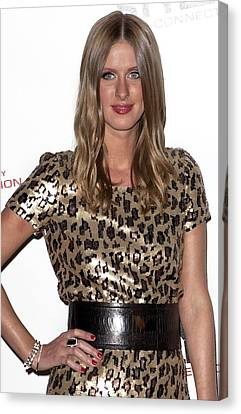 Nicky Hilton In Attendance For Launch Canvas Print