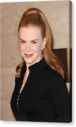 Nicole Kidman At In-store Appearance Canvas Print by Everett