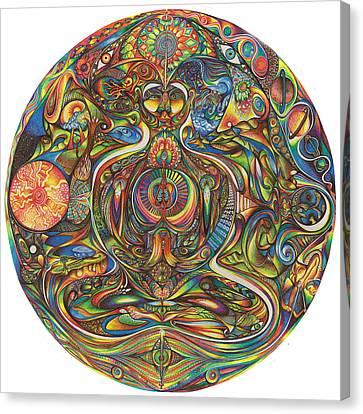 nIeyeIn Canvas Print by Jonathan 'DiNo' DiNapoli