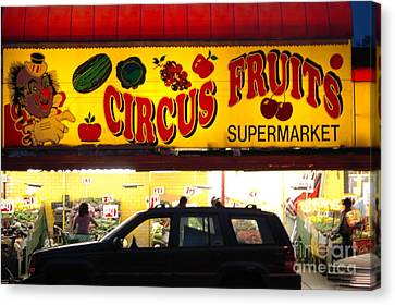 Night At The Supermarket Canvas Print by Mark Gilman
