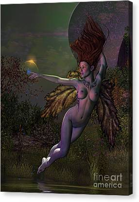 Night Fae Canvas Print