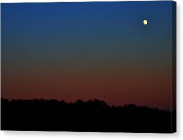 Canvas Print featuring the photograph Night Light by Brian Stevens