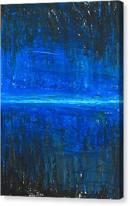 Night Line Canvas Print by Kazuya Akimoto