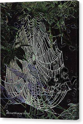 Night Lines Canvas Print by EricaMaxine  Price
