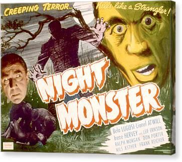 Night Monster, Bela Lugosi, 1942 Canvas Print by Everett