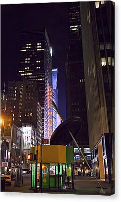 Night Needle Canvas Print by Art Ferrier