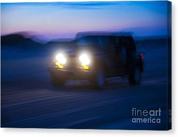 Night Rider Canvas Print by John Greim