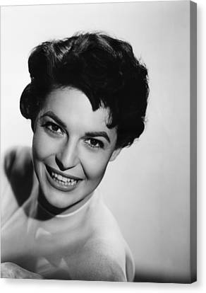 Nightfall, Anne Bancroft, 1957 Canvas Print by Everett