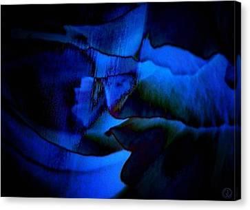Nightly Blues Canvas Print by Gun Legler