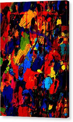 Nighttown  Vi Canvas Print by John  Nolan