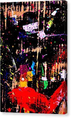 Nighttown X Canvas Print by John  Nolan