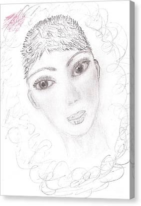 Nika Canvas Print by Kira Nech