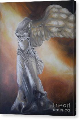 Nike Canvas Print by GLORY-AN Art Gallery