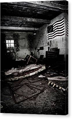 Nike Base Canvas Print by Dom Manfredo
