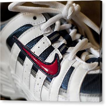 Nike Canvas Print by Malania Hammer