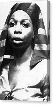 Nina Simone, 1978 Canvas Print by Everett