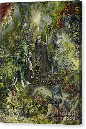 Nine Dragons Gate Canvas Print