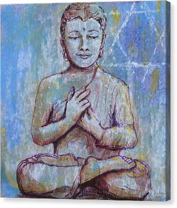 Canvas Print featuring the painting Nirvana by Susan Fisher