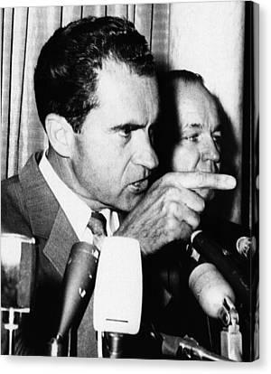 Nixon Vice Presidency.  Vice President Canvas Print by Everett