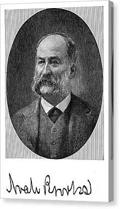 Noah Brooks (1830-1903) Canvas Print by Granger