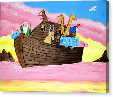 Noah's Ark Canvas Print by Christie Minalga