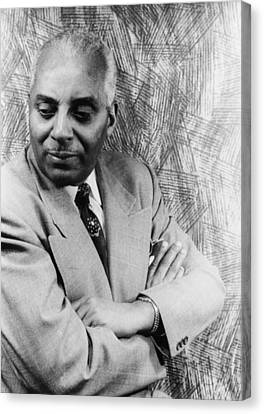 Noble Sissle 1889-1975, American Jazz Canvas Print by Everett