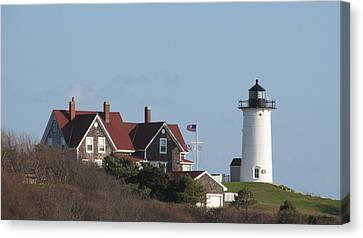 Nobska Lighthouse Cape Cod Canvas Print