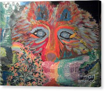 Nocturnal Survival Canvas Print by Catherine Herbert