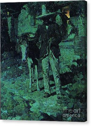 Nocturne Contrast Canvas Print by Pg Reproductions