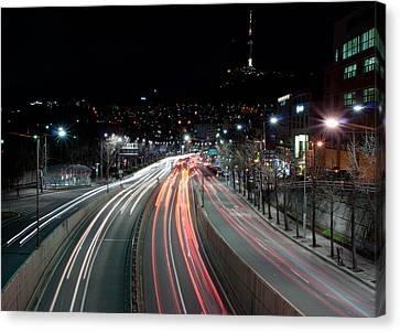 Noksapyeong Bridge Canvas Print by Shannon Aston Photography
