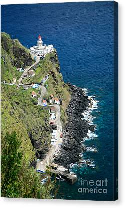 Nordeste Lighthouse - Azores Canvas Print by Gaspar Avila