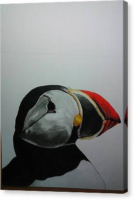 Nordic Birds Canvas Print by Per-erik Sjogren