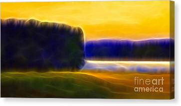 Impressionism Canvas Print - Nordic Lightscape by Lutz Baar